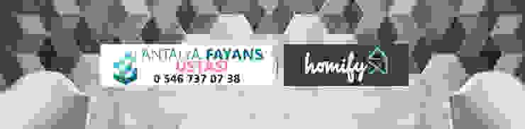 de Antalya Fayans Ustası - 0 546 737 07 38 Mediterráneo Madera maciza Multicolor