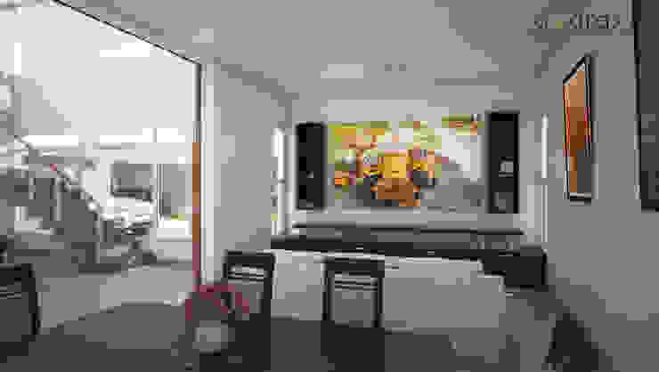 Phòng khách phong cách kinh điển bởi áwaras arquitectos Kinh điển