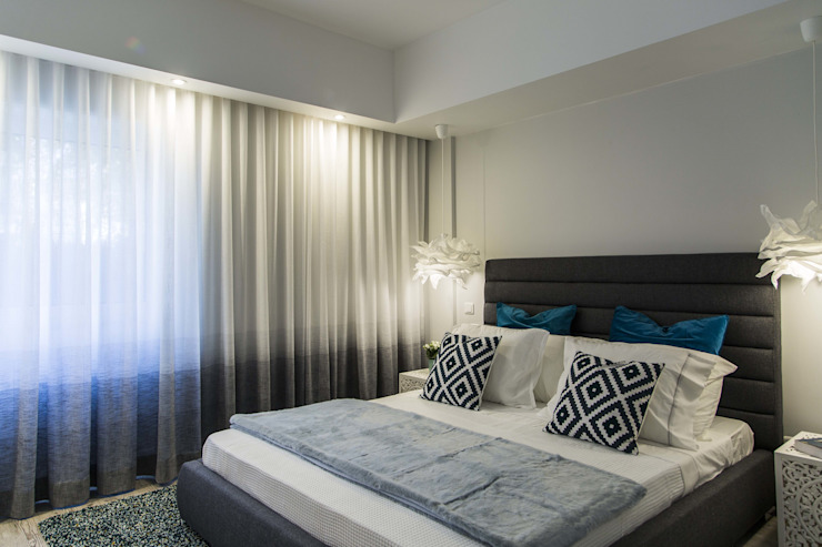 Bedroom Eclectic style bedroom by Conceitos Itinerantes, Lda Eclectic