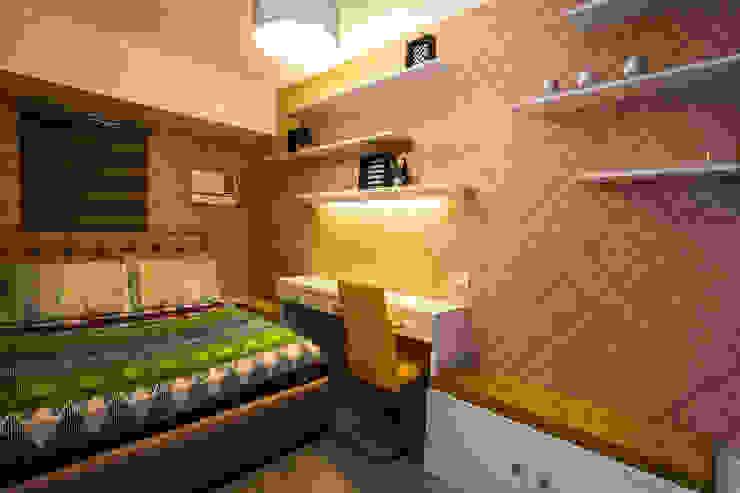 TG Designing Corner Camera da letto moderna
