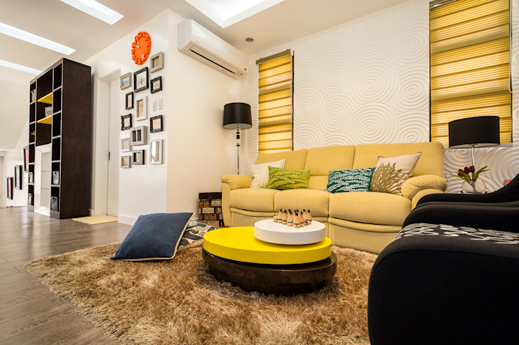 Tagaytay Southridge Estates TG Designing Corner Living room