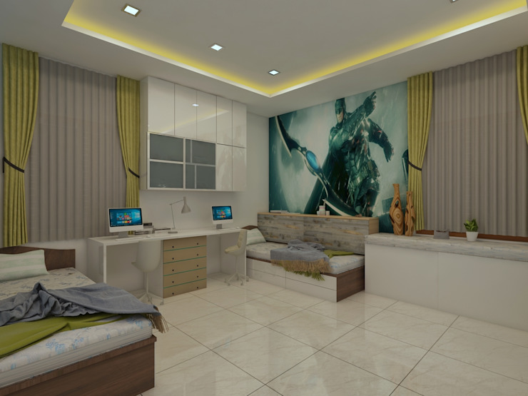 Kids Bedroom by homify Modern
