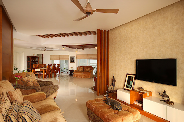 Marine Drive Classic style living room by Studio Nirvana Classic