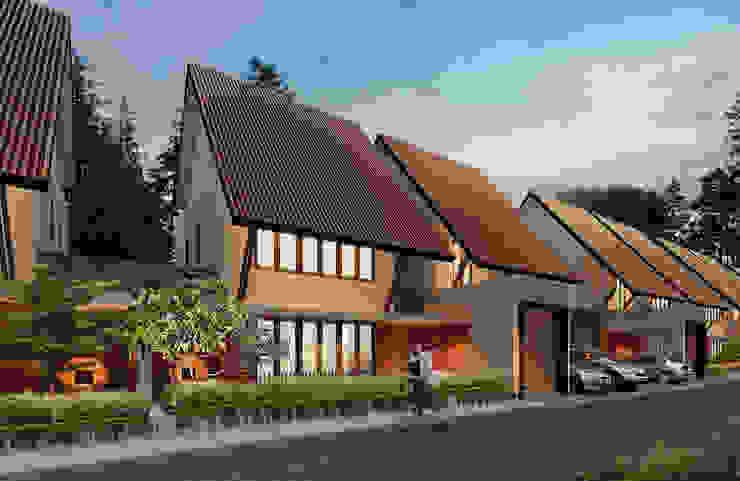 LAWANG WOLU YOGYAKARTA Rumah Modern Oleh sony architect studio Modern