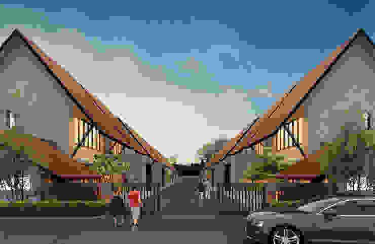 LAWANG WOLU YOGYAKARTA:modern  oleh sony architect studio, Modern