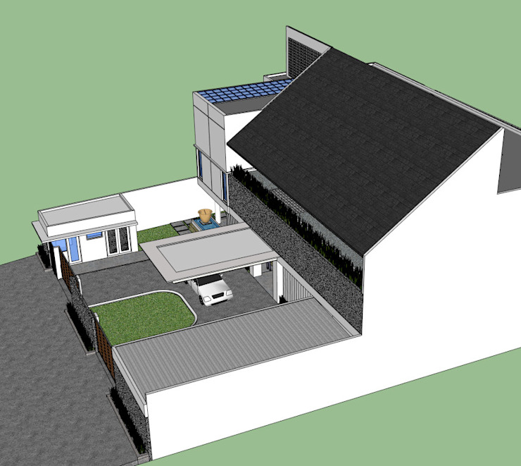 de estilo  por sony architect studio,