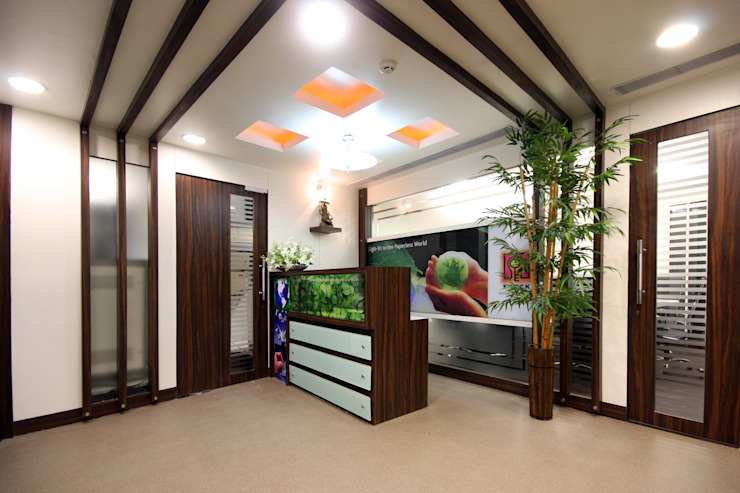 Timeless Learning Technologies - Bhosale Nagar, Pune Modern study/office by Spaceefixs Modern