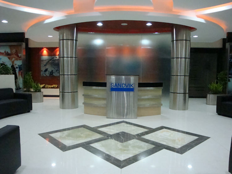 Sandvik Asia Pvt. Ltd. - SMC Office - Pune by Spaceefixs Modern