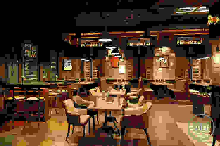 Solo Design Studio Bars & clubs Bricks Grey