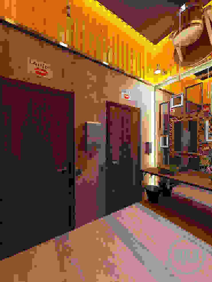 Solo Design Studio Bars & clubs Ceramic Yellow
