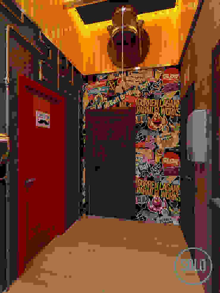 Solo Design Studio Bars & clubs Multicolored