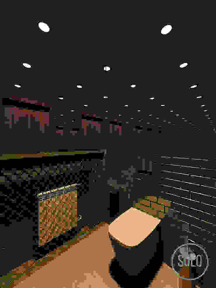 Solo Design Studio Bars & clubs Ceramic Black
