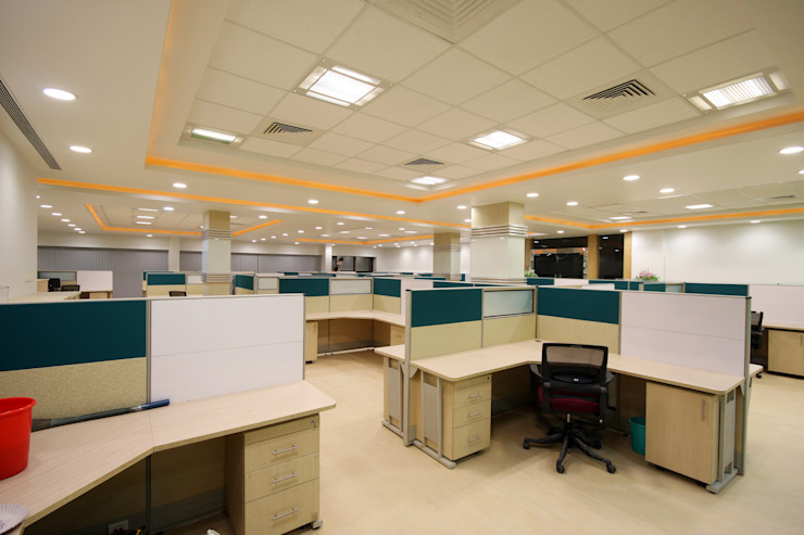 Kenersys : Kalyani Group ,Pune Modern study/office by Spaceefixs Modern