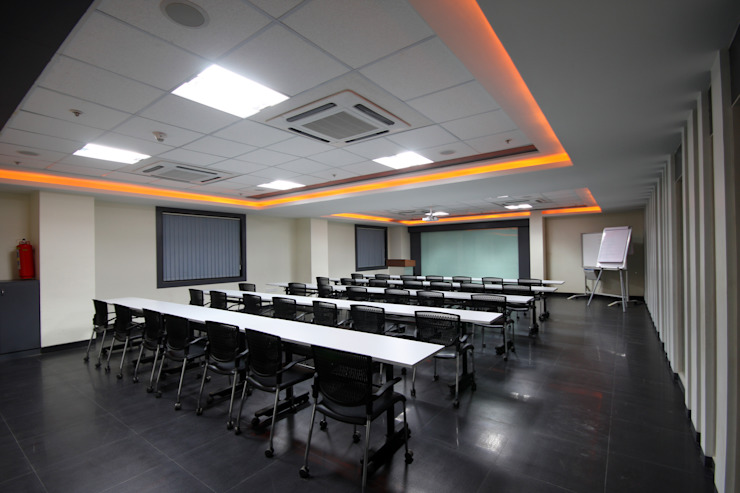 Walter Tools India Limited, Pune. Modern study/office by Spaceefixs Modern