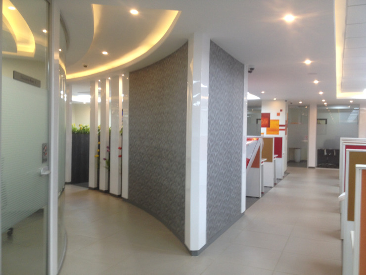 Panama Systems Pvt. Ltd. Pune. Modern study/office by Spaceefixs Modern