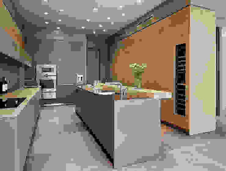 Grand dining Nhà bếp phong cách hiện đại bởi Kitchen Architecture Hiện đại