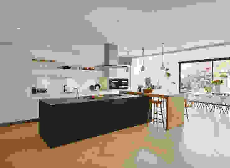 Combined elegance Kitchen Architecture Кухня