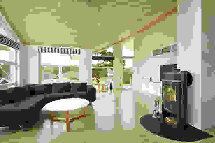 Ruang Keluarga Gaya Skandinavia Oleh Oliver Kuty Photography Skandinavia