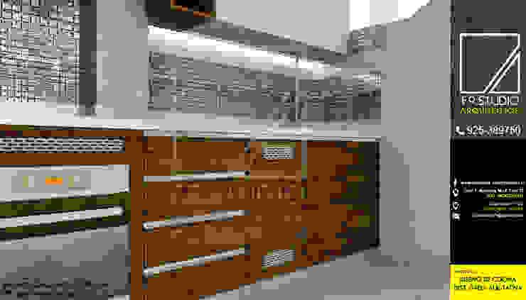 Vista detalle de Mueble de F9.studio Arquitectos Moderno Aglomerado