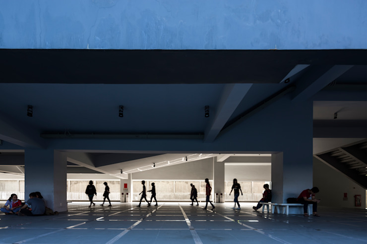 Trường Đại học Kiến trúc TPHCM (UAH) bởi truong an design consultant corporation Hiện đại
