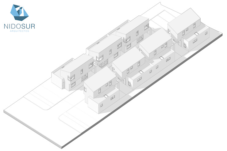 modern  by NidoSur Arquitectos - Valdivia, Modern