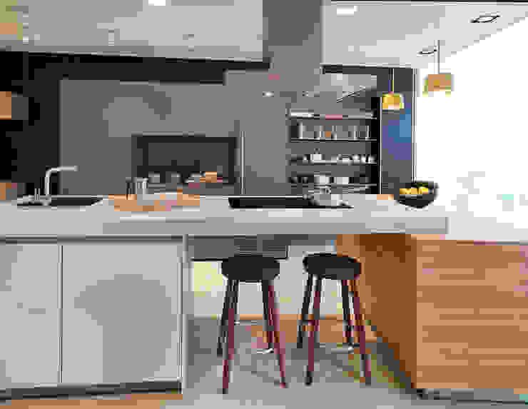 Oxford Showroom Nhà bếp phong cách hiện đại bởi Kitchen Architecture Hiện đại