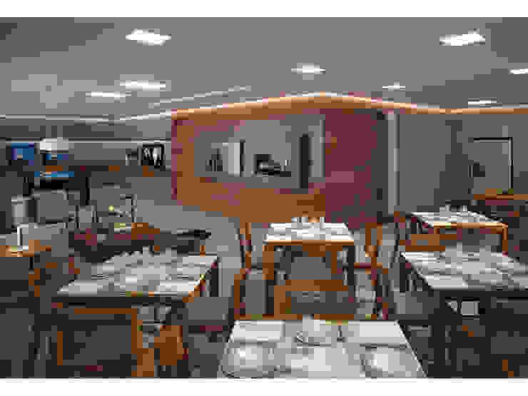 Vale das Águas Residence Salas de jantar modernas por SZ ARQUITETURA Moderno