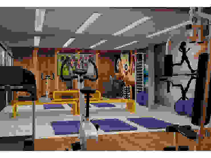 Vale das Águas Residence Fitness moderno por SZ ARQUITETURA Moderno