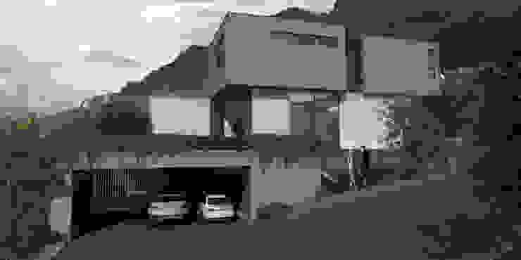 Casa AA Casas modernas de VOA Arquitectos Moderno Mármol