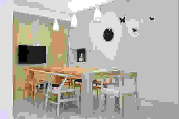 【居家設計】謙謙太子蔡邸--品牌來自於「生活」的價值 現代廚房設計點子、靈感&圖片 根據 謐境空間策略事務所 - Dimension Scenario Work 現代風