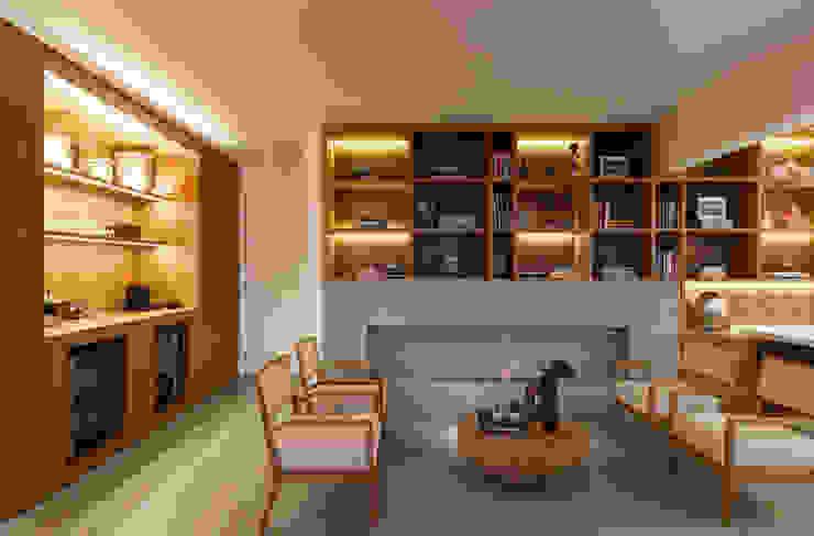 Apartamento Portugal Salas de estar minimalistas por GDL Arquitetura Minimalista