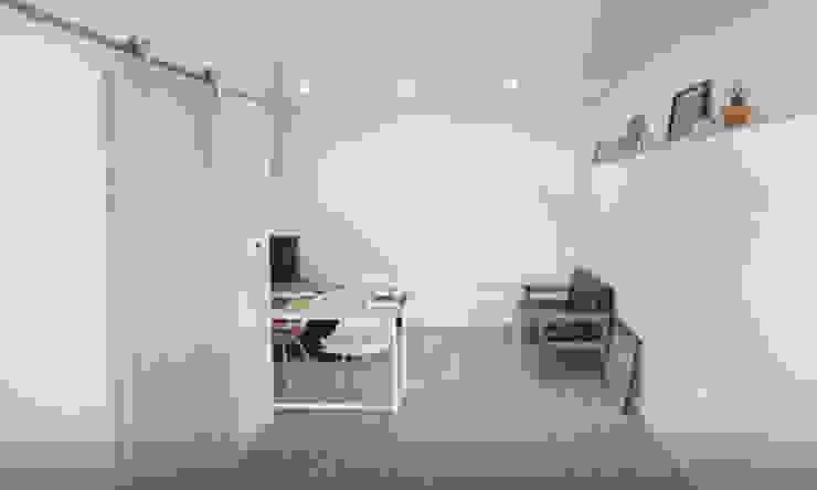 성북동 주택 모던스타일 거실 by GongGam Urban Architecture & Construction 모던