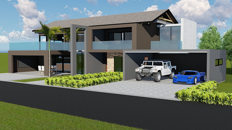 House :Shayandima Modern houses by BlackStructure Modern