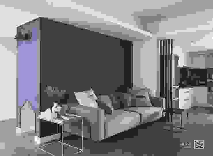沙發背牆 根據 禾廊室內設計 隨意取材風