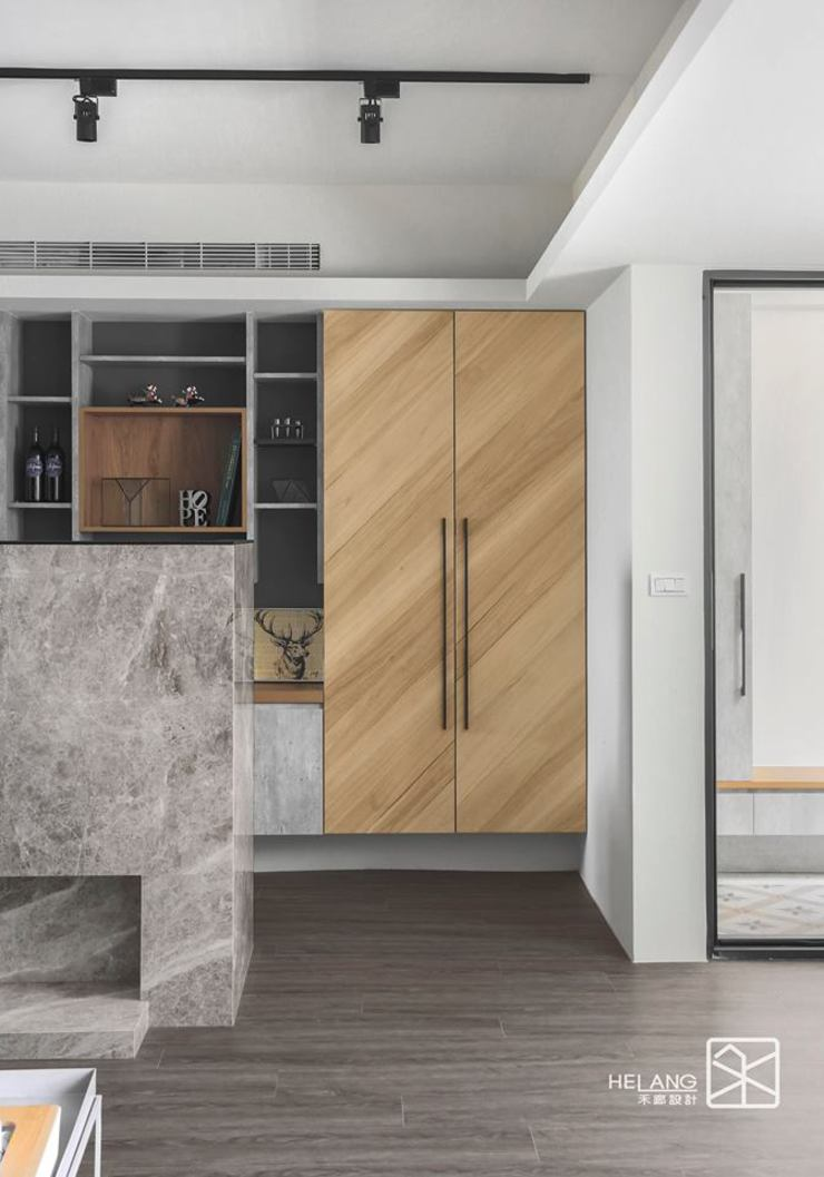 系統與木作 根據 禾廊室內設計 隨意取材風 塑木複合材料