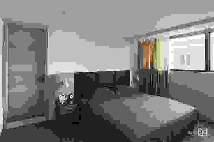 Camera da letto eclettica di 禾廊室內設計 Eclettico