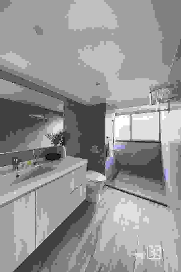 主浴 根據 禾廊室內設計 隨意取材風