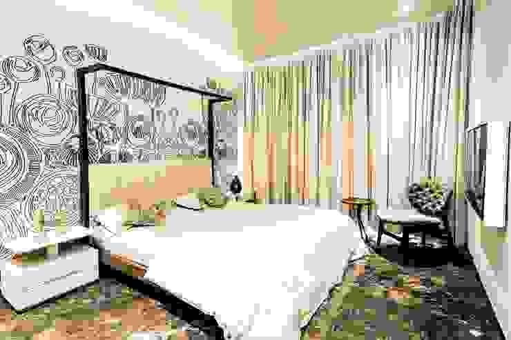 Asiatische Schlafzimmer von DESIGNER'S CIRCLE Asiatisch