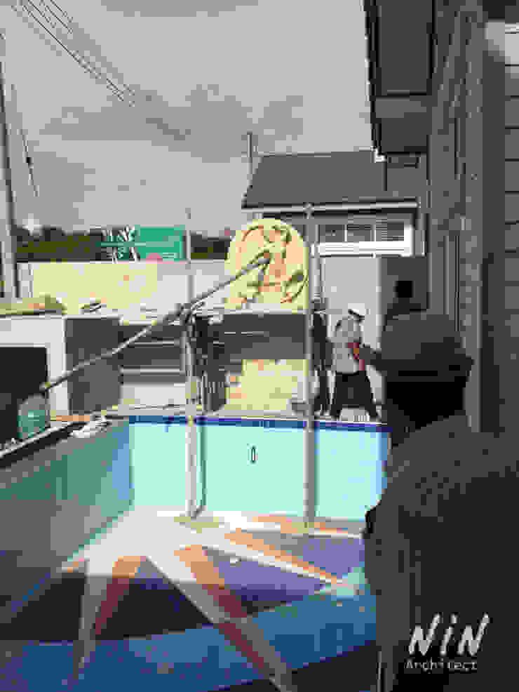 Pool villa American style โดย NIN Architect