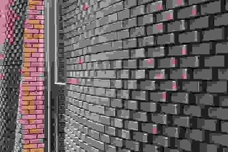 這是一個有關磚與數位的實驗 根據 前置建築 Preposition Architecture