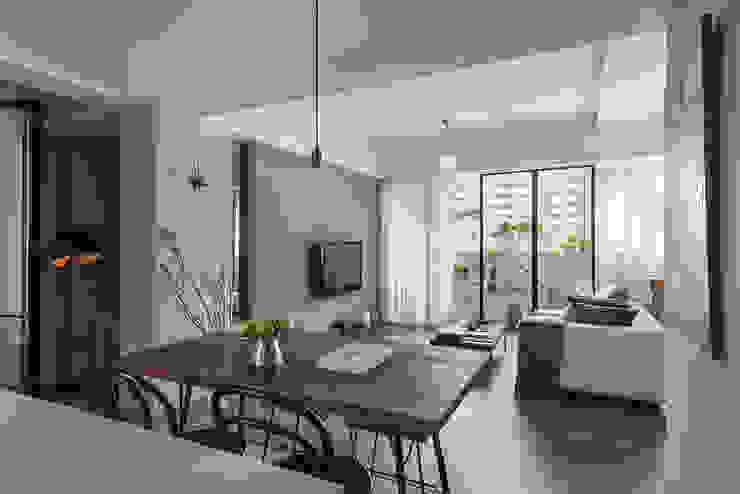 餐廳與客廳的關係 根據 沐光植境設計事業 北歐風