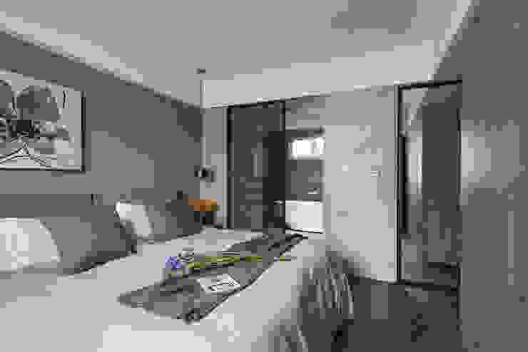 غرفة نوم تنفيذ 沐光植境設計事業