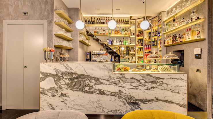 NEGRONI Bar & Club moderni di MOB ARCHITECTS Moderno