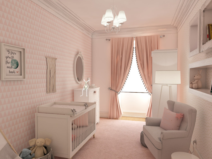 Baby room by The Spacealist - Arquitectura e Interiores, Modern