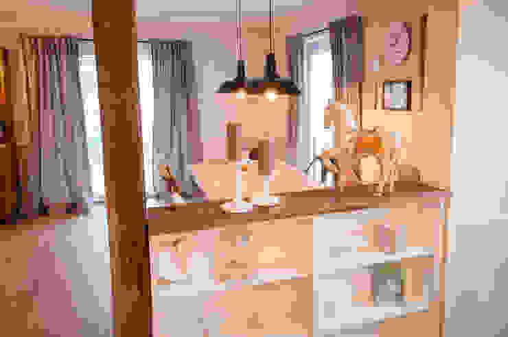 Küche und Essbereich homify Esszimmer im Landhausstil