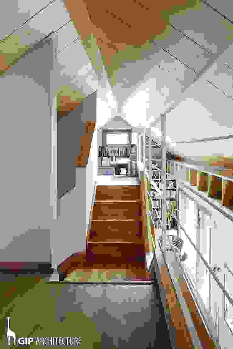 GIP Couloir, entrée, escaliers modernes