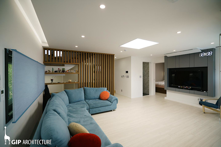 Living room by GIP,