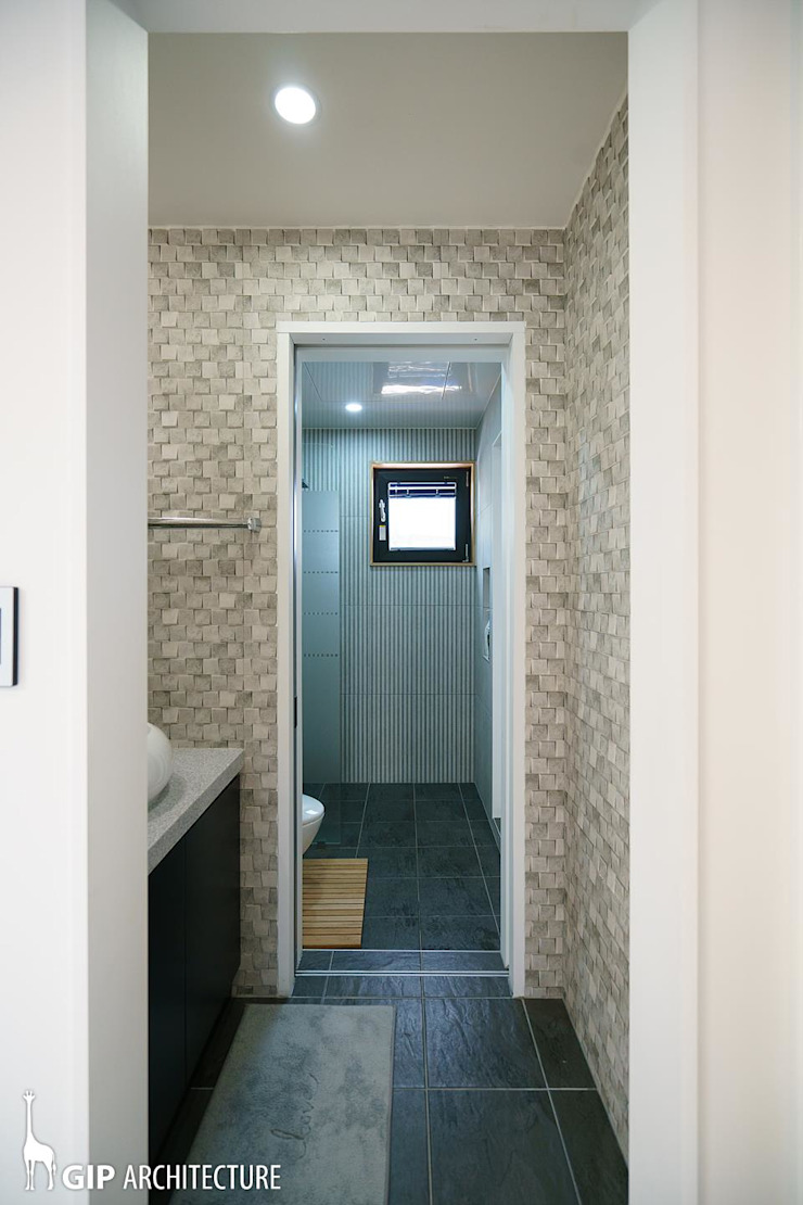 KITCHEN WING 모던스타일 욕실 by GIP 모던