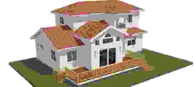 울진 덕구 프로젝트: (주)트라움목조주택의 현대 ,모던