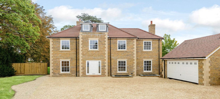 4 Luxury Homes in Oxfordshire 모던스타일 주택 by D&N Construction Limited 모던